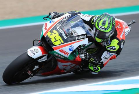 'Speed is there' for Friday pace-setter Crutchlow
