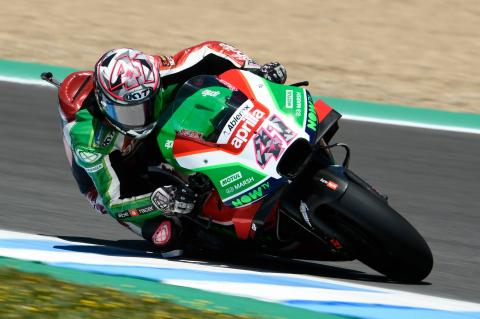 Espargaro devastated as Aprilia misery scrubs 'easy' podium chance