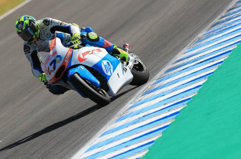 Moto2 Spain: Baldassarri dominates for Jerez victory