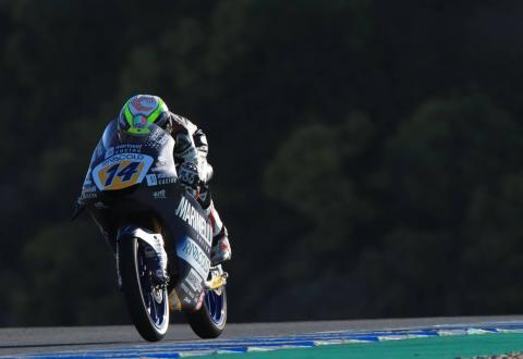 Jerez Moto3 test times - Wednesday (Session 3)