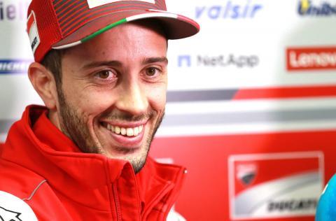 Dovizioso 'closer' to renewing Ducati contract