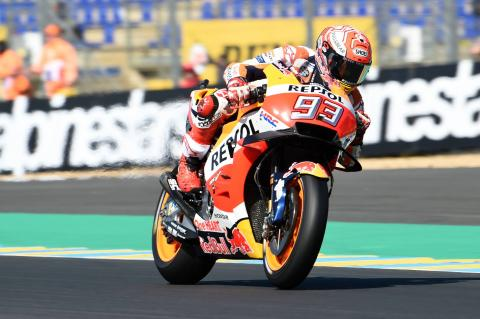Marquez fastest with new fairing in FP1