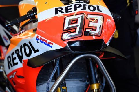 Marquez, Pedrosa debut new Honda fairing