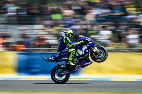 Rossi: I was worried, but our bike works well