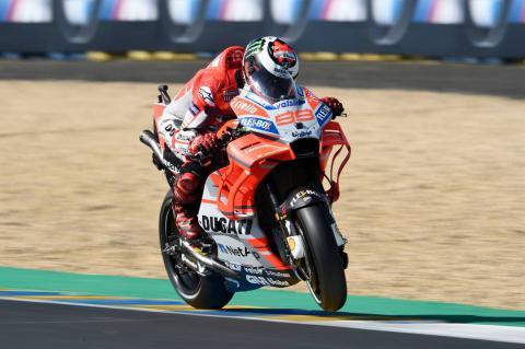 Lorenzo-Ducati combination 'stronger than '17'