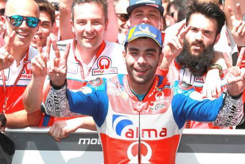 Petrucci: Podium very helpful for Ducati position