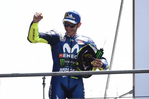 Rossi: Le Mans track helped Yamaha to podium