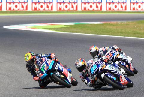 Moto3 Mugello: Majestic Martin wins dramatic lunge to the line