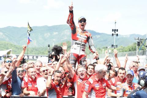 Lorenzo: From 'depression' to 'splendid' Ducati victory