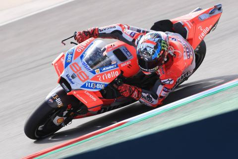 Back-to-back Ducati wins for dominant Lorenzo