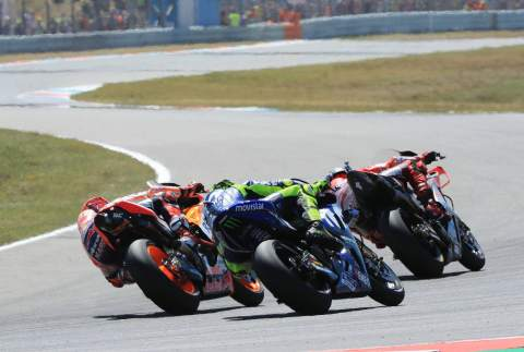 Rossi: Exciting, but Marquez had a margin