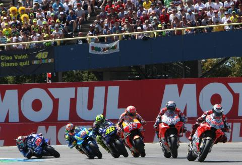 PICS: MotoGP puts on stunning show at Assen!
