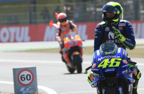 Rossi: We want a good battle on Sunday