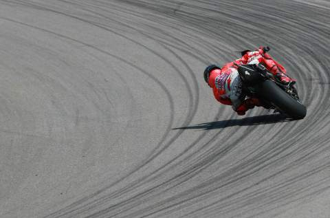 Ducati to the front in FP2