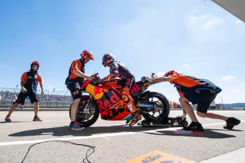 German MotoGP - Warm-up Results