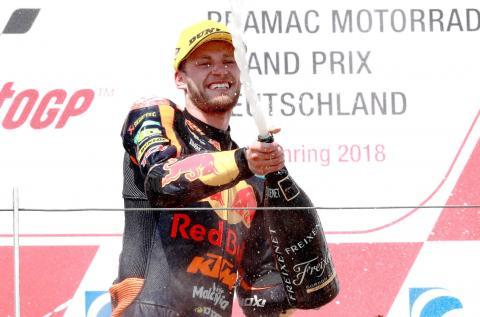 Moto2 Germany: Binder back to winning ways at Sachsenring