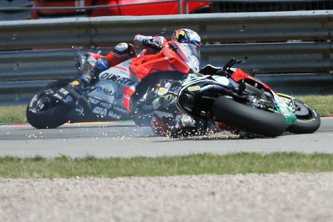 Crutchlow overheats, RCV still needs 'group' therapy