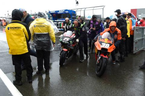 Silverstone saga: Monday or Tuesday MotoGP race in future
