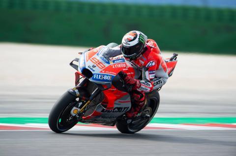 Lorenzo blows away lap record for Misano pole