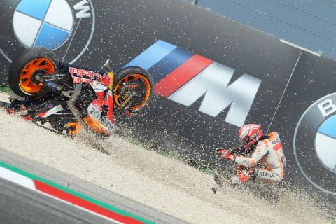 Stats: Marquez tops 2018 MotoGP falls list