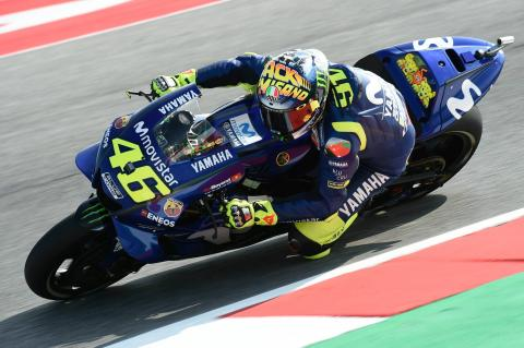 Rossi seeking 'two tenths' for podium fight