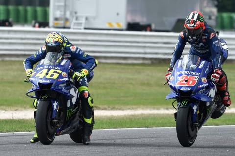Vinales: Electronics, chassis gains vital due to engine freeze