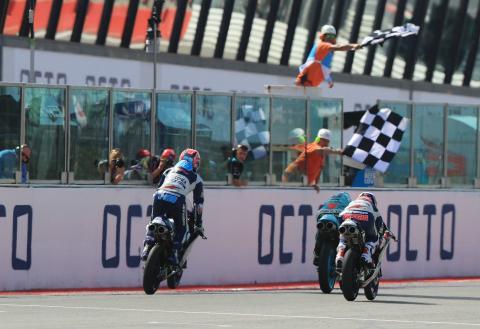 Moto3 Misano: First win for Dalla Porta, Bezzecchi falls to lose lead