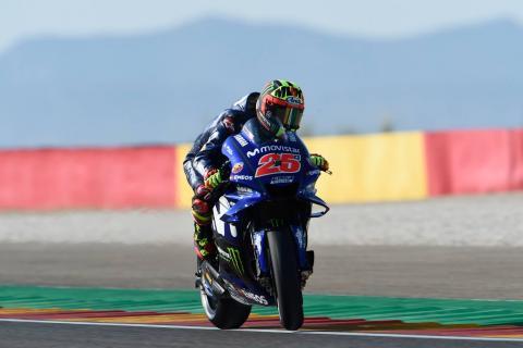 Aragon MotoGP - Qualifying (1) Results