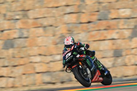Zarco: With warm temperatures, there's no solution