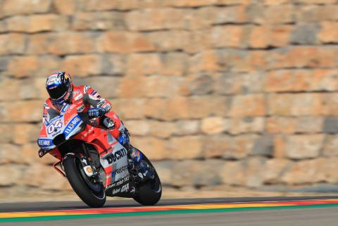 Dovizioso: Tyre consumption key to upsurge in form