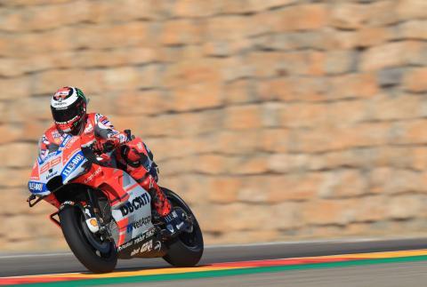 Aragon MotoGP - Free Practice (4) Results