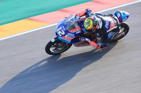 Moto3 Aragon - Free Practice (3) Results