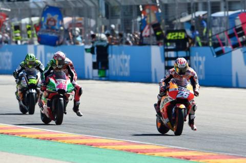 Tyre choice costs Pedrosa podium fight