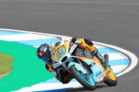 Moto3 Japan: Rodrigo takes last lap shootout for pole