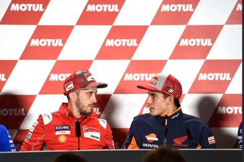 Dovizioso: Marc has a margin, he's able to risk