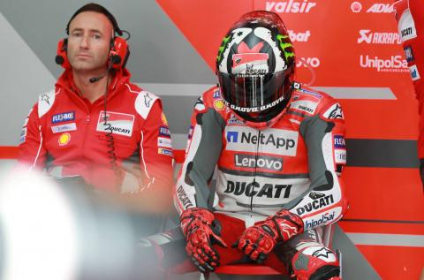 Lorenzo 'withdraws' from Japanese MotoGP