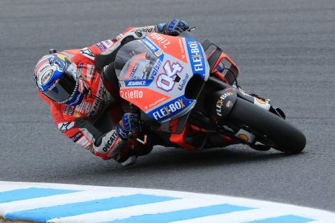 Dovizioso defends top spot in FP3
