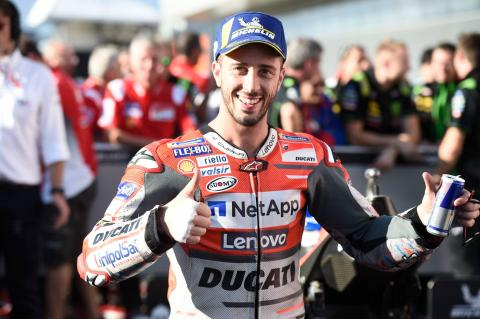 Dovizioso: The goal is to win