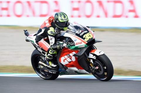 Crutchlow 'pretty disappointed' to miss front row