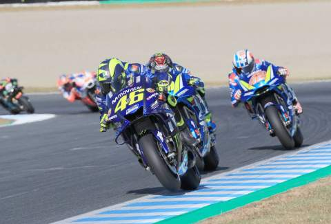 Rossi salvages fourth after Sunday 'step'