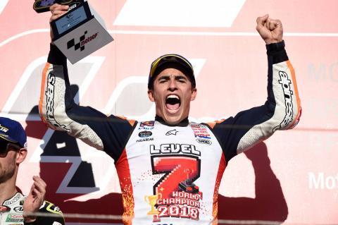 Marquez: Five MotoGP titles, but now I want more