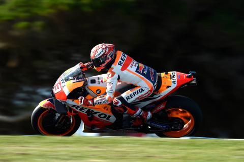 MotoGP Australia - Full Qualifying Results