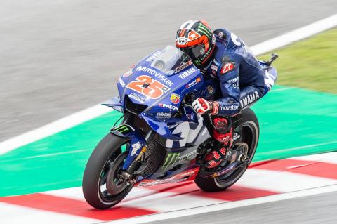 MotoGP Malaysia - Warm-up Results
