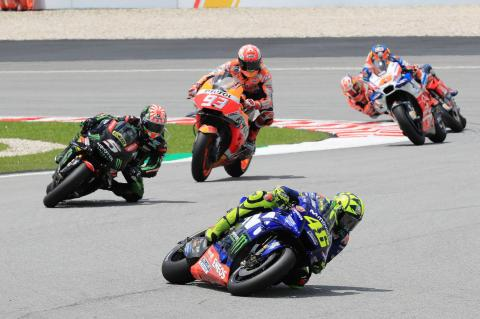 Rossi pace helps pull Zarco to podium