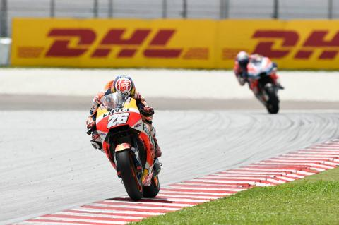 Pedrosa: Sepang better than normal, nothing special for Valencia