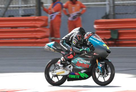 Adam Norrodin ruled out of Moto3 farewell
