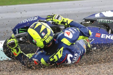 Rossi on Valencia crash: A s**t emotion