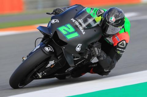 Morbidelli: Yamaha like riding on butter