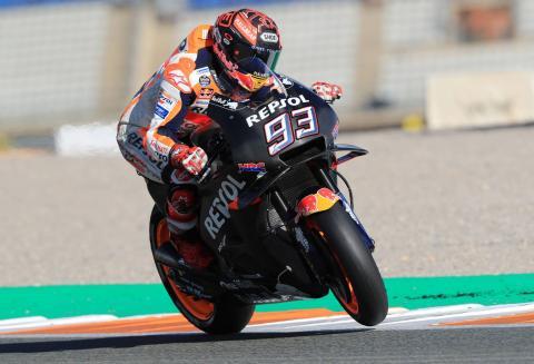 Marquez: Difficult day, 2019 Honda feeling good