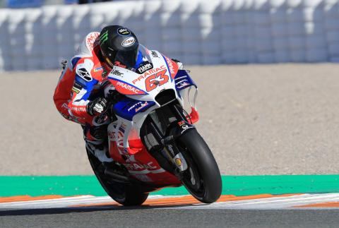 Bagnaia 'feeling good with everything'